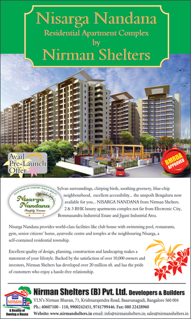 Nirman Shelters Pvt. Ltd